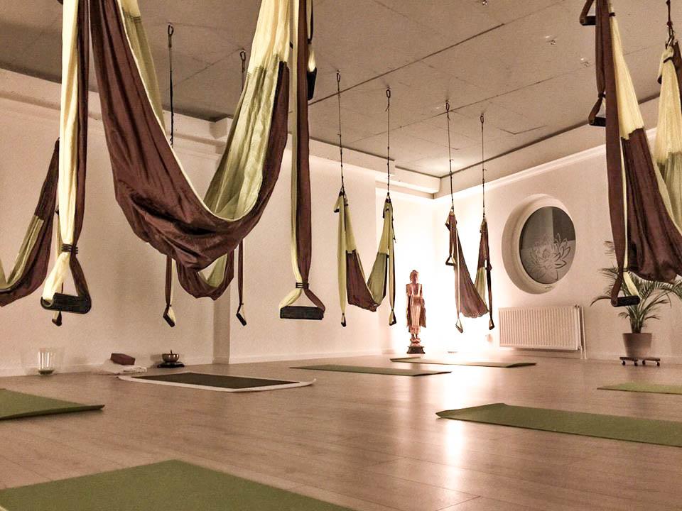 Nächster Yoga im Tuch Workshop